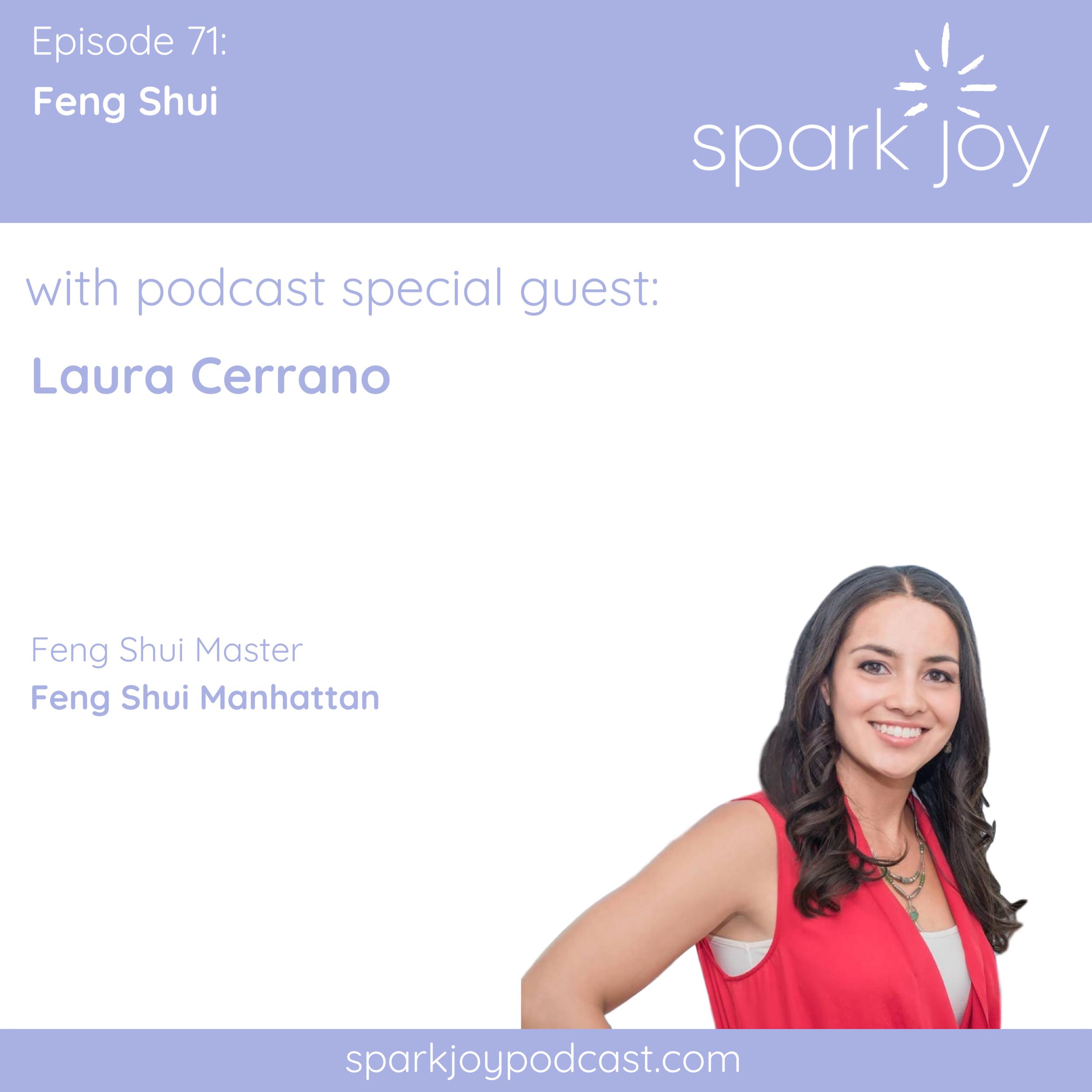 spark joy podcast feng shui manhattan consultant laura cerrano.png