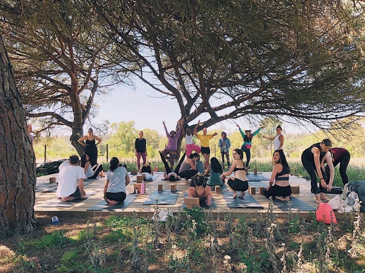 yoga retreat charleston sc portugal spain costa vicentina fishermans trail hiking retreat