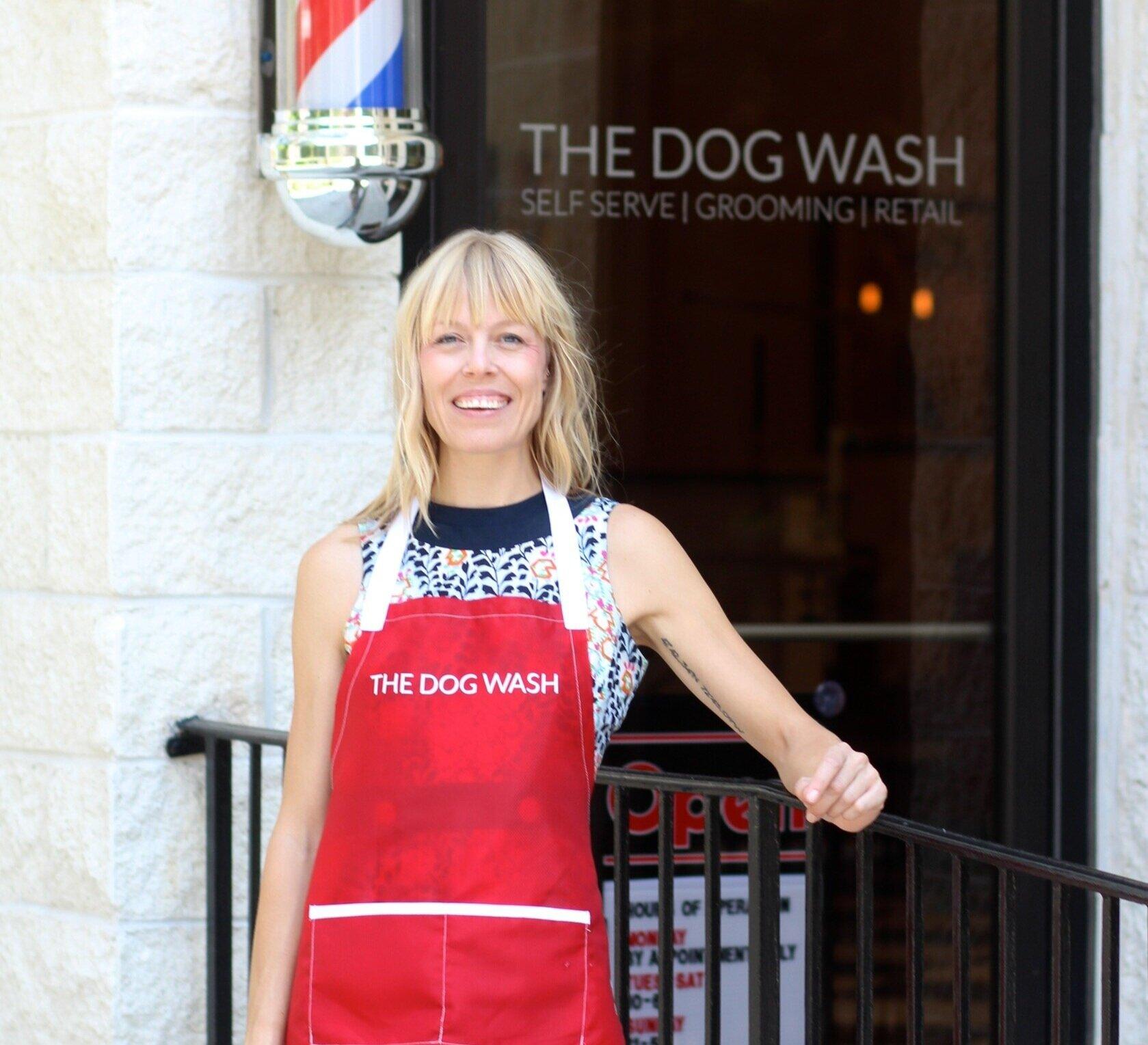 carrie montgomery, the dog wash charleston, urban yoga, sangha spotlight