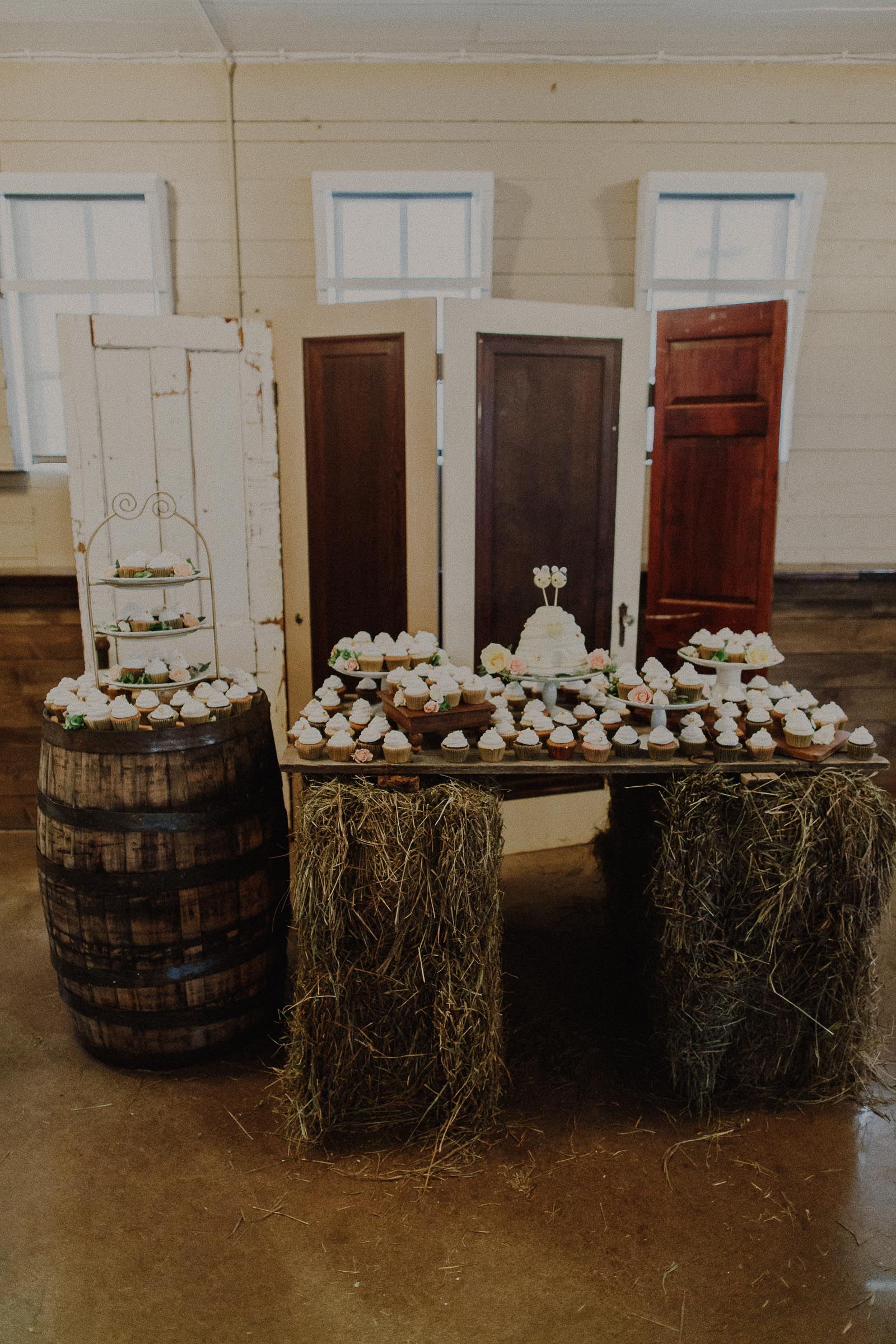 The Barn at the Ackerhurst Dairy Farm wedding