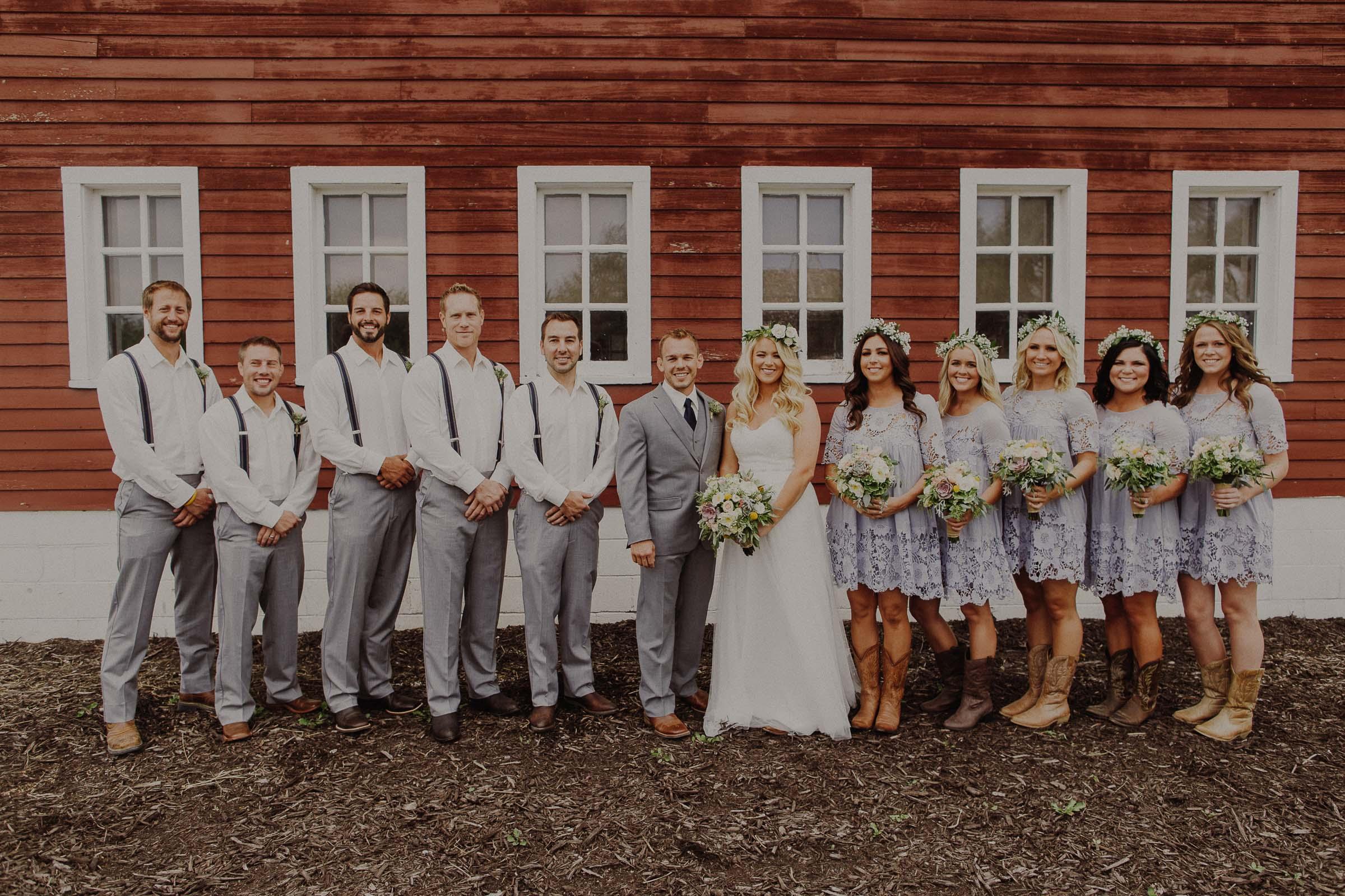 The Barn at the Ackerhurst Dairy Farm wedding