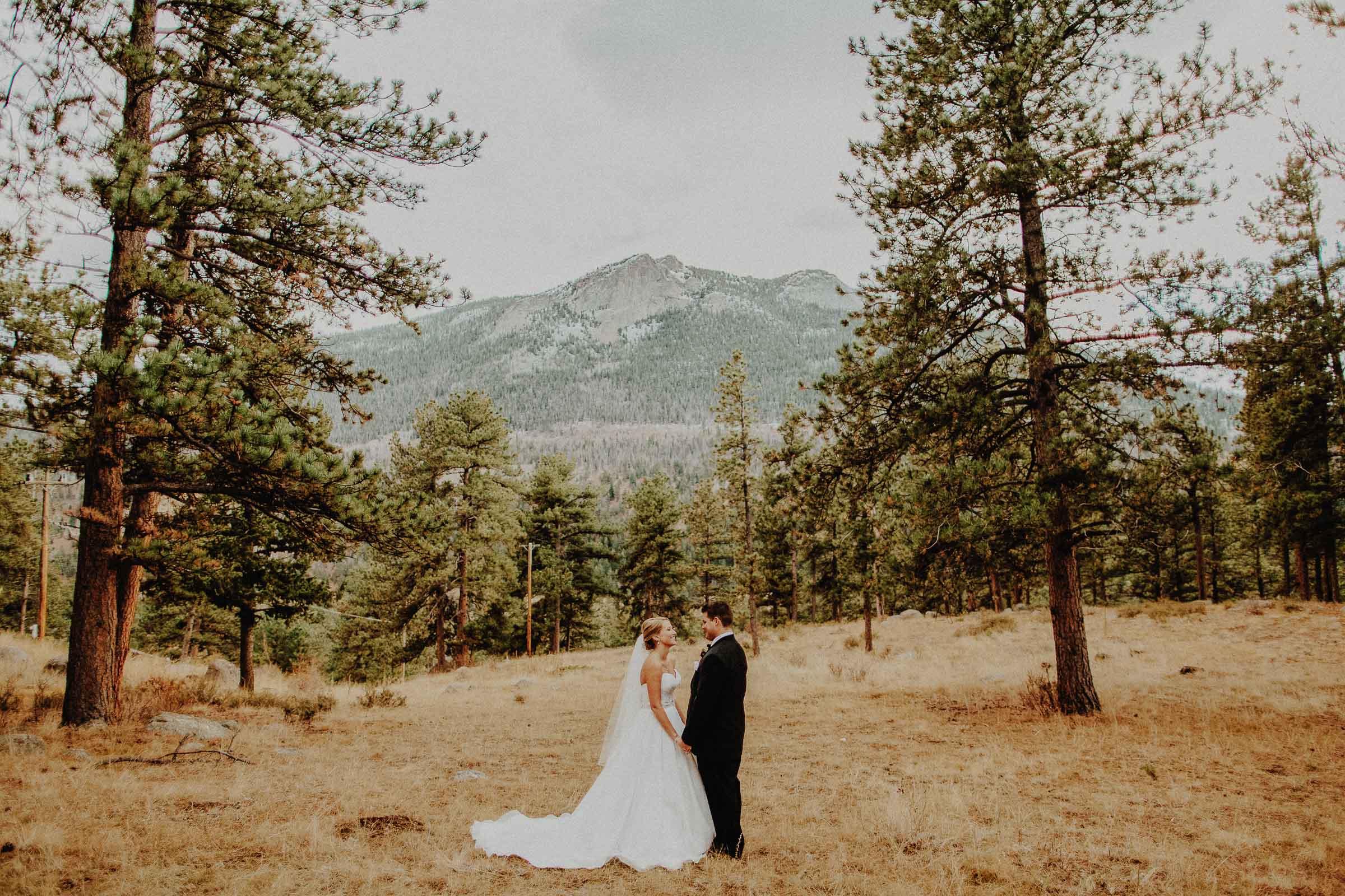 Ryan + Anne  Della Terra Mountain Chateau Wedding in Estes Park, Colorado     View