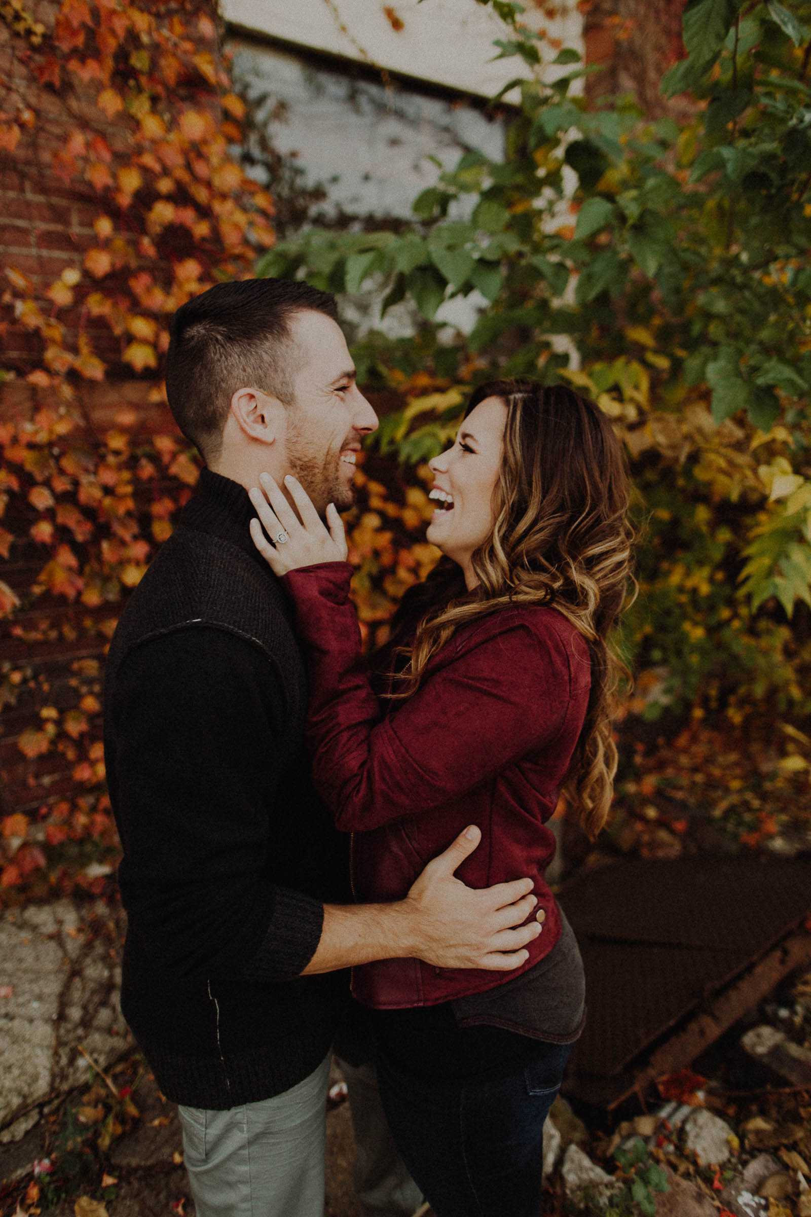 Sammy + Shinelle  Fall Engagement Session at Neale Woods in Omaha, Nebraska   VIEW