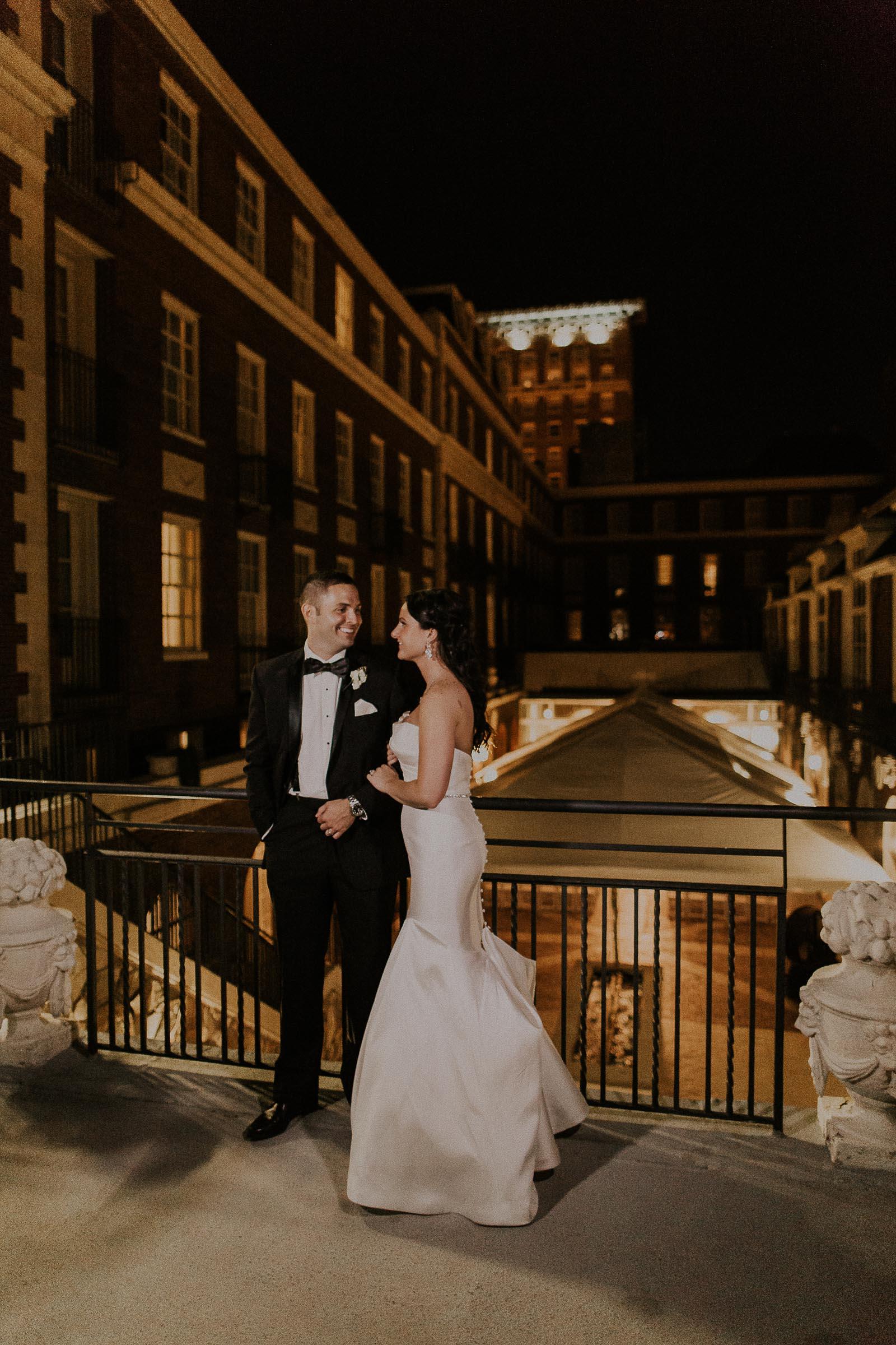 Tom + Robin  Art Deco Inspired Wedding at Magnolia Hotel in Omaha, Nebraska     view
