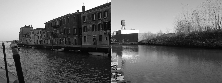 The Grand Gowanus, no.3 ,  series,  2008, giclée prints, 4-1/8 x 11 inches, stereo prints presented in custom paper portfolio