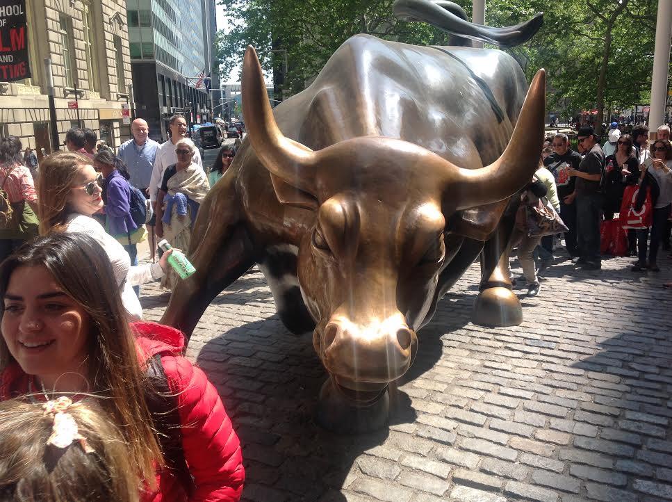 The Bull Near Wall Street In New York City