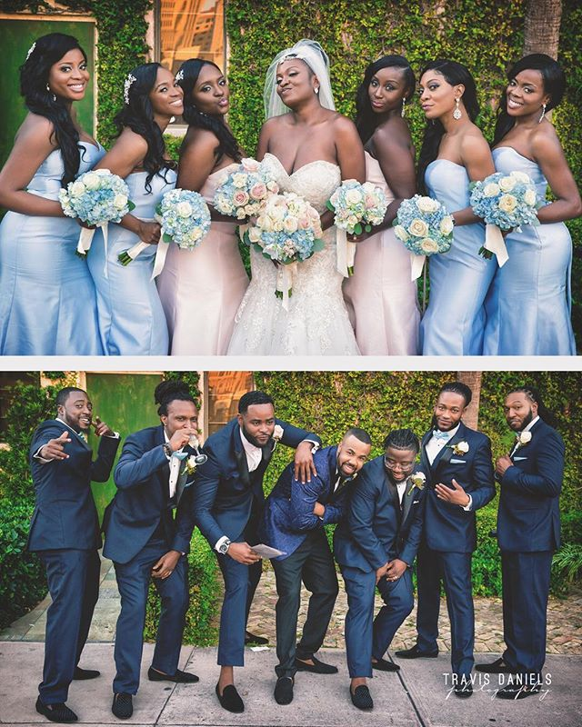 #TheBridalParty by @travisdanielsphotography #quality is 🔑 #wedding #weddingday #swag #funtime
