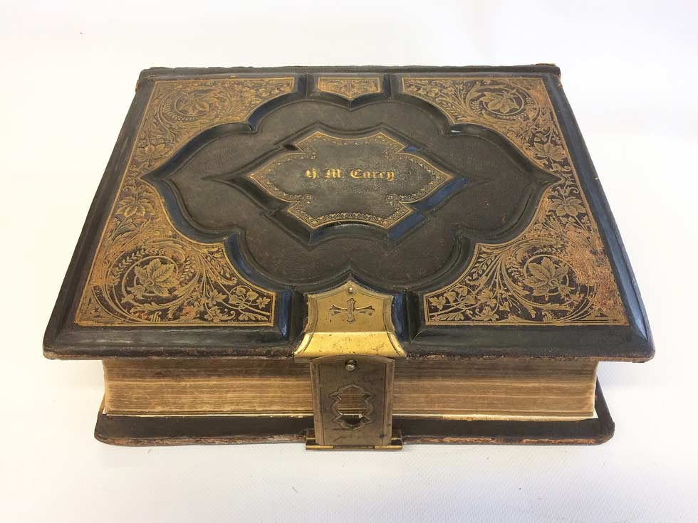 Restoration of a priceless family bible