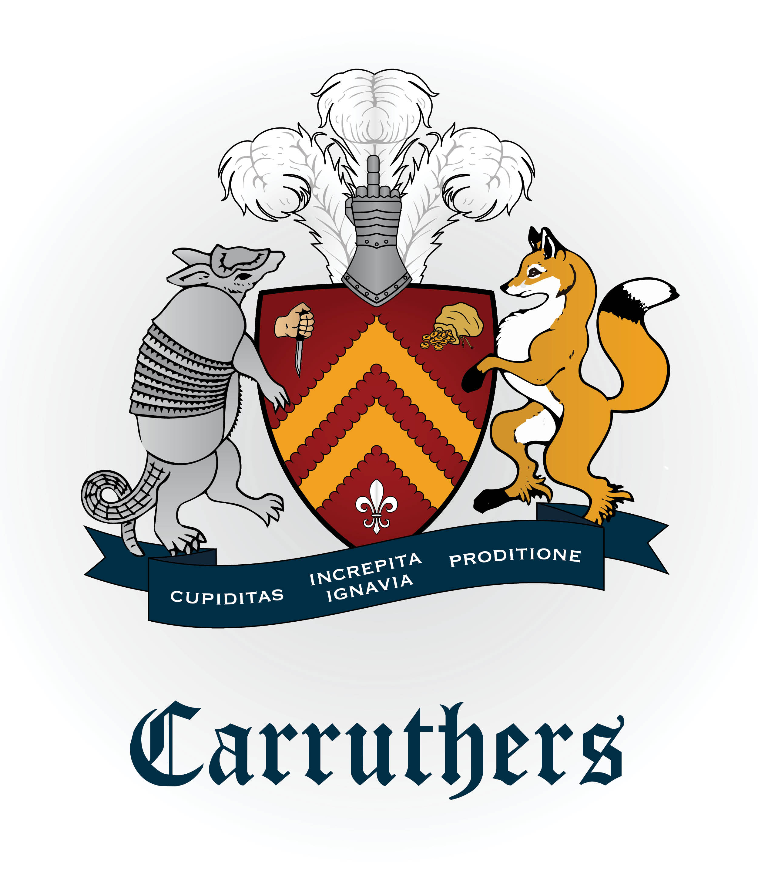 Clan Carruthers Crest Reimagination - Gag Gift