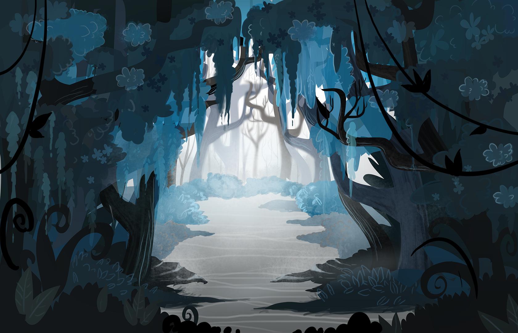 Forest Scene (Swetha)