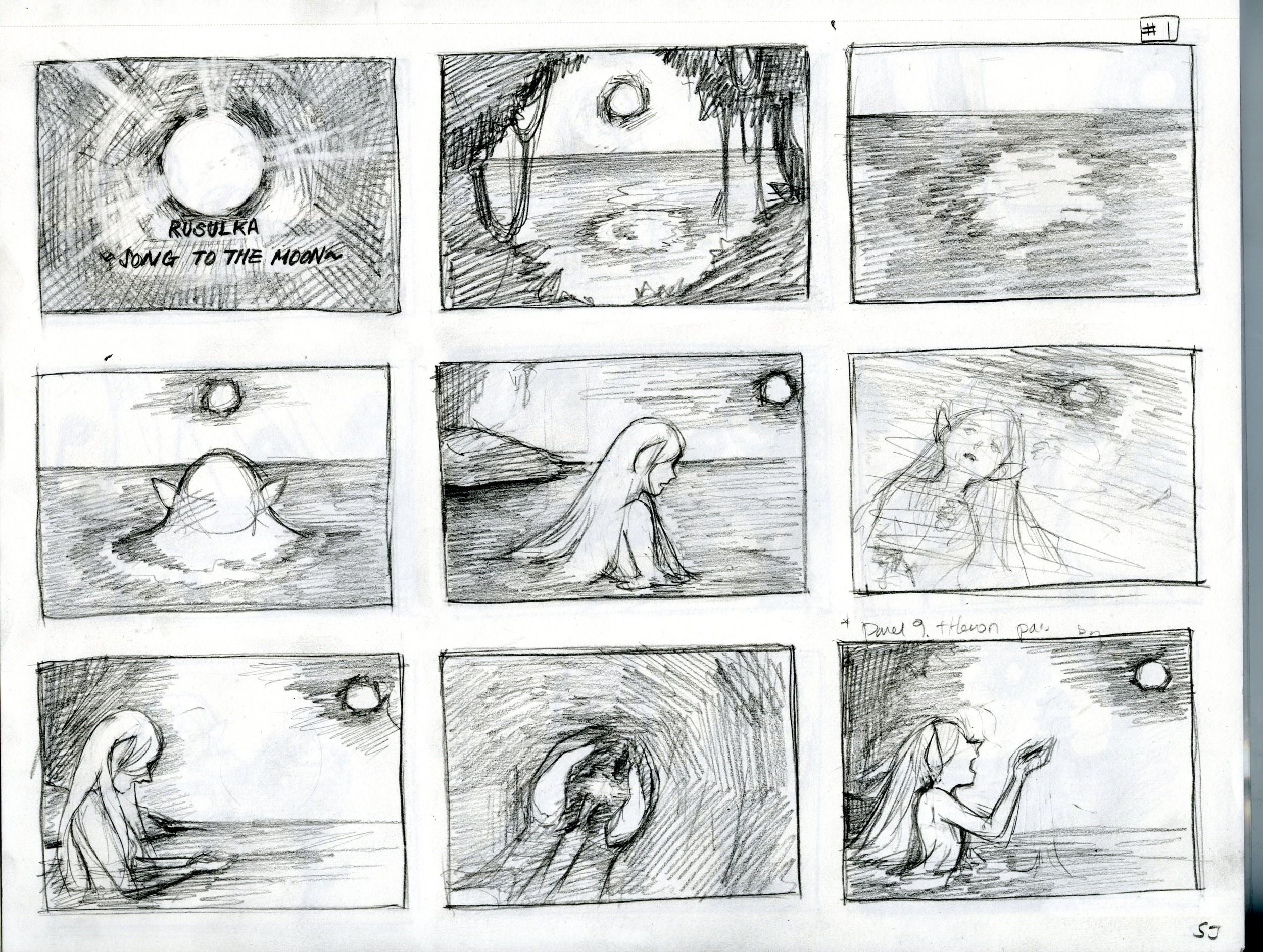 Soojin's Storyboard