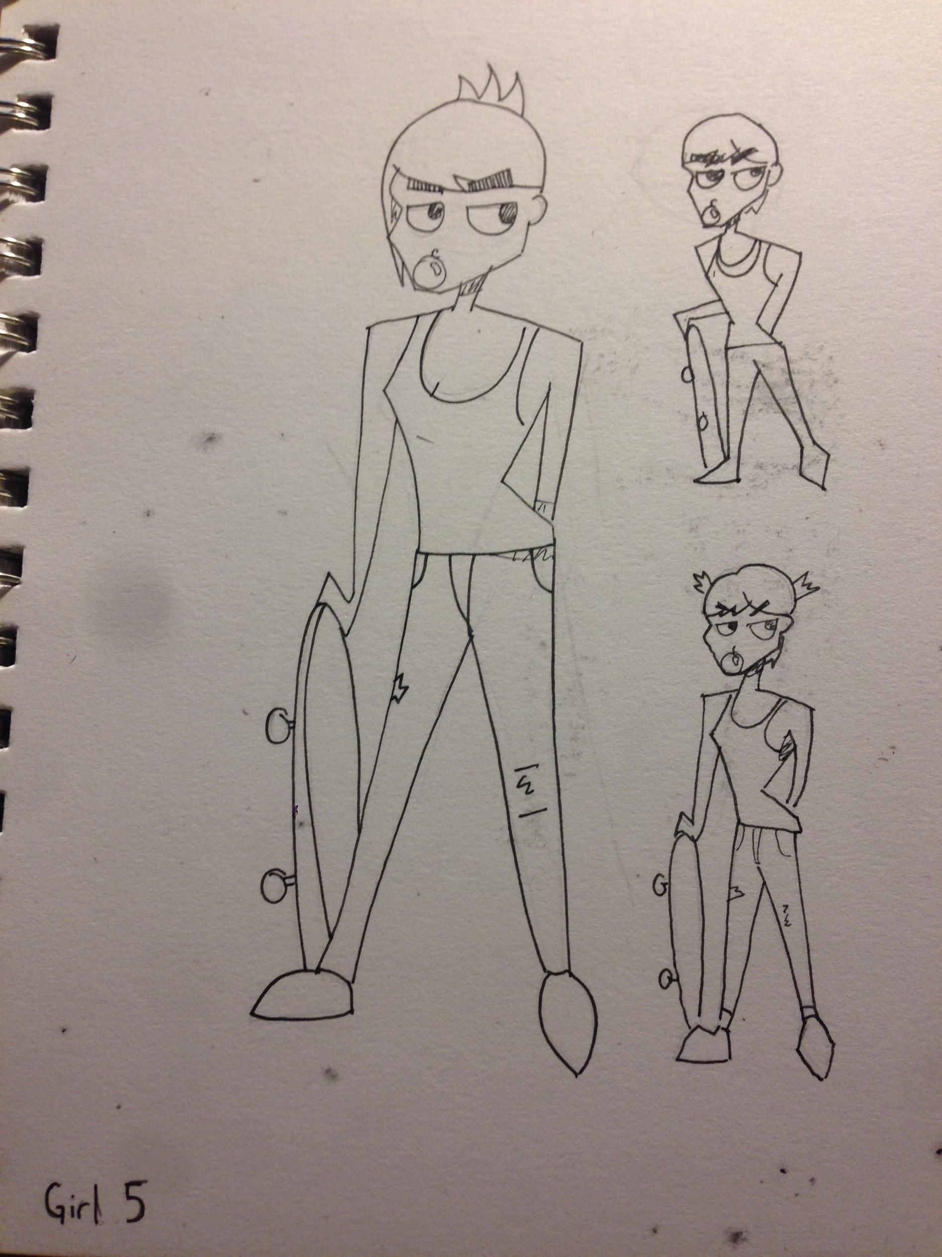 Third Girl Concept Art