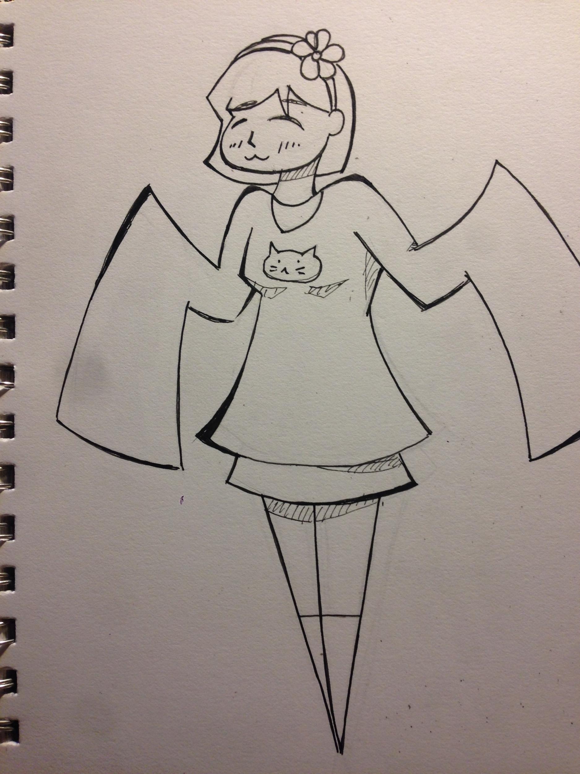 Second Girl Concept Art