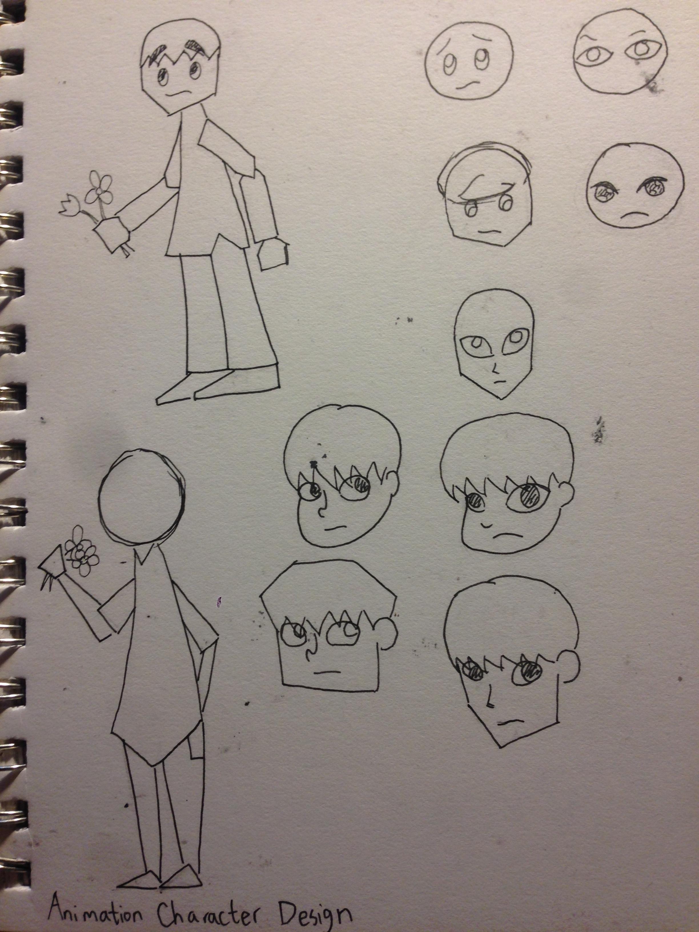 Boy's Face Concept Art