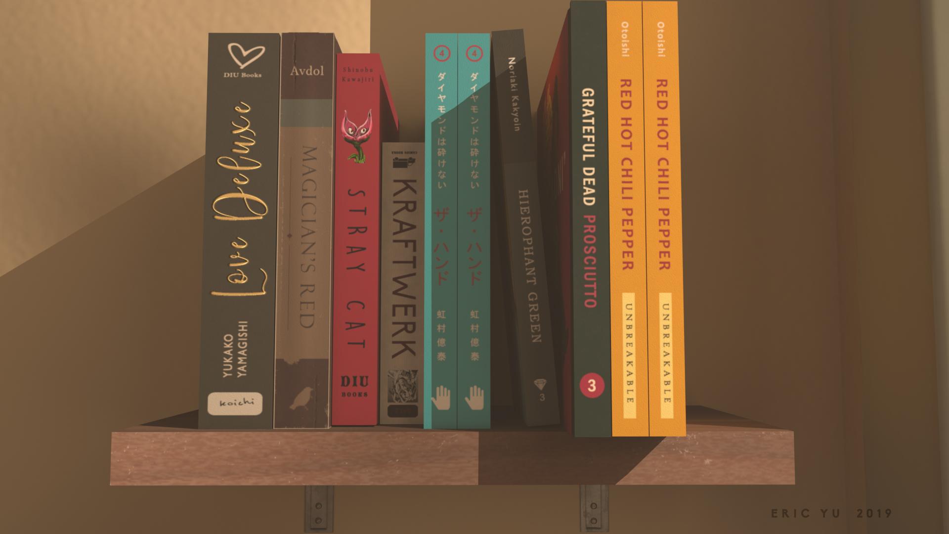 Bookshelf Books Wireframe