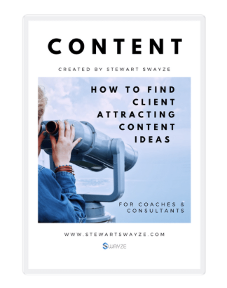 finding content ideas for coaches