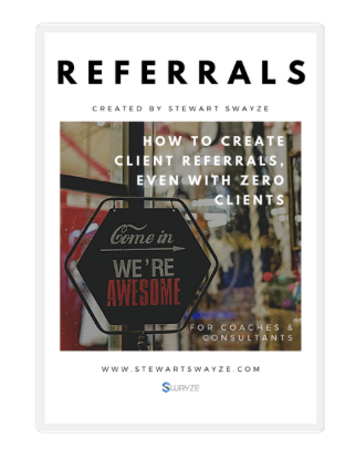 creating client referrals for coaches