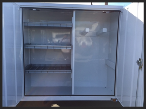 Concrete Saw Body (Service Body Type) - Right Side Front Cabinets 60x60x23