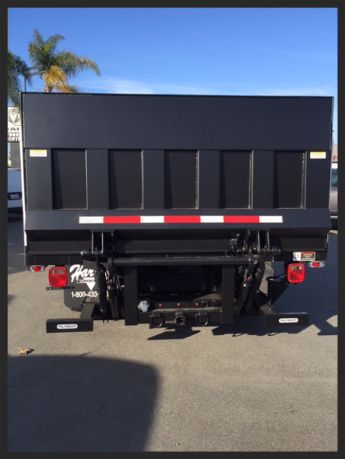 Concrete Saw Body (Service Body Type) - Palfinger Interlift Liftgate 48x94 Steel Platform 2,200lb Capacity & Call IV Tow Pkg