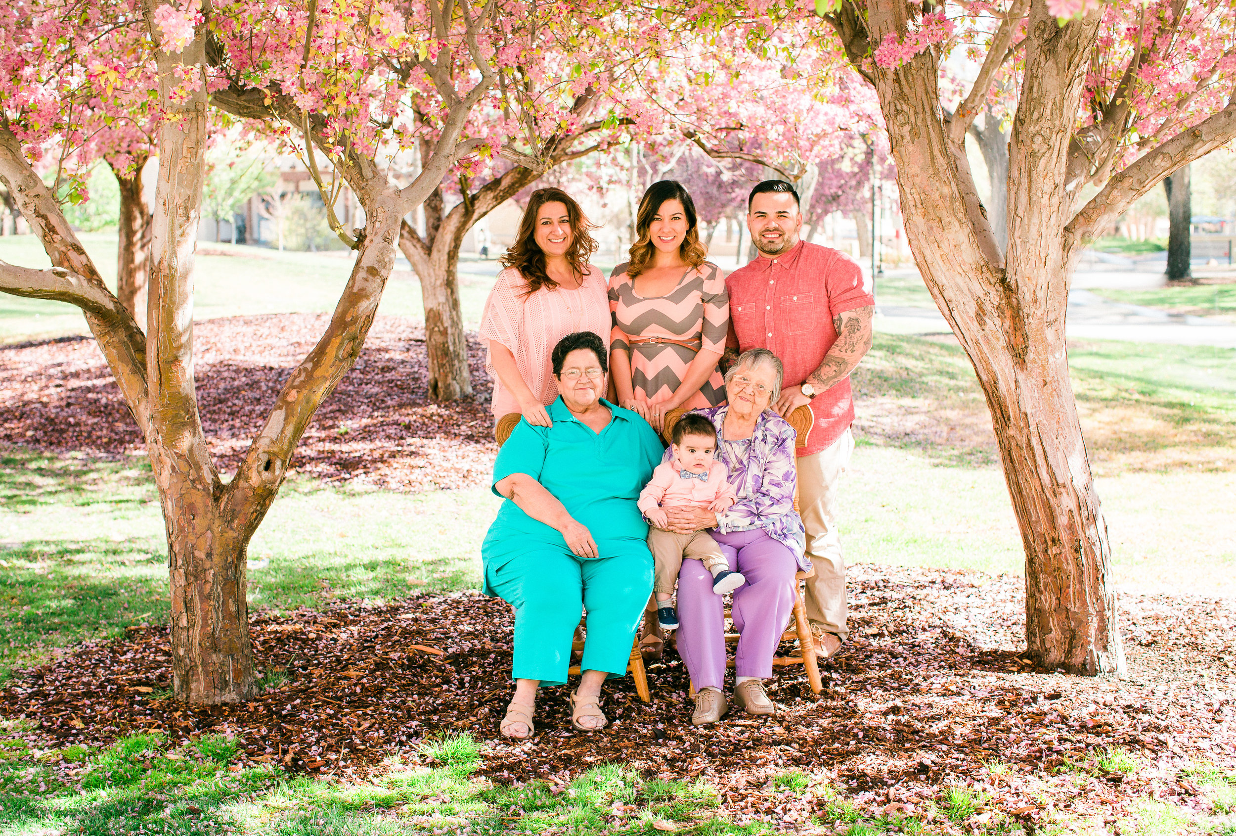 A 5 Generation Family Session