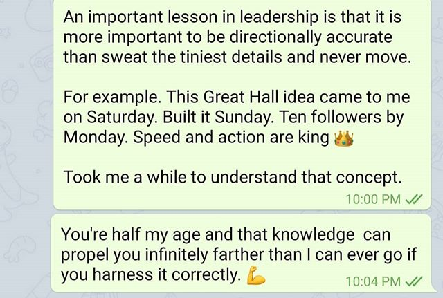 The purpose of The Great Hall is to be more than building better guitarists and musicians... It's collecting, building, and rewarding leaders and action takers.💪🎸👑 Why aren't you here? 👀
