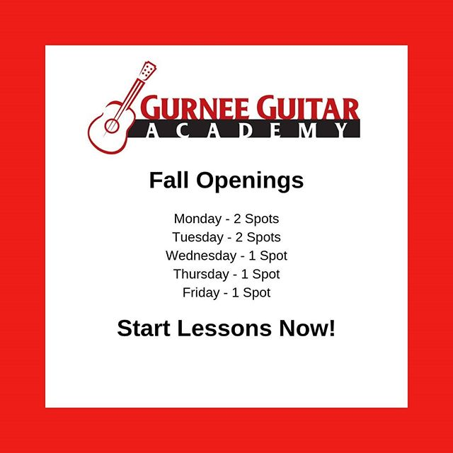 Get in now before they're gone!  #gurnee #libertyville #grayslake #guitar #guitars #guitarist  #guitarplayer #music #musician  #guitarlessons #guitarlesson #lesson #lessons
