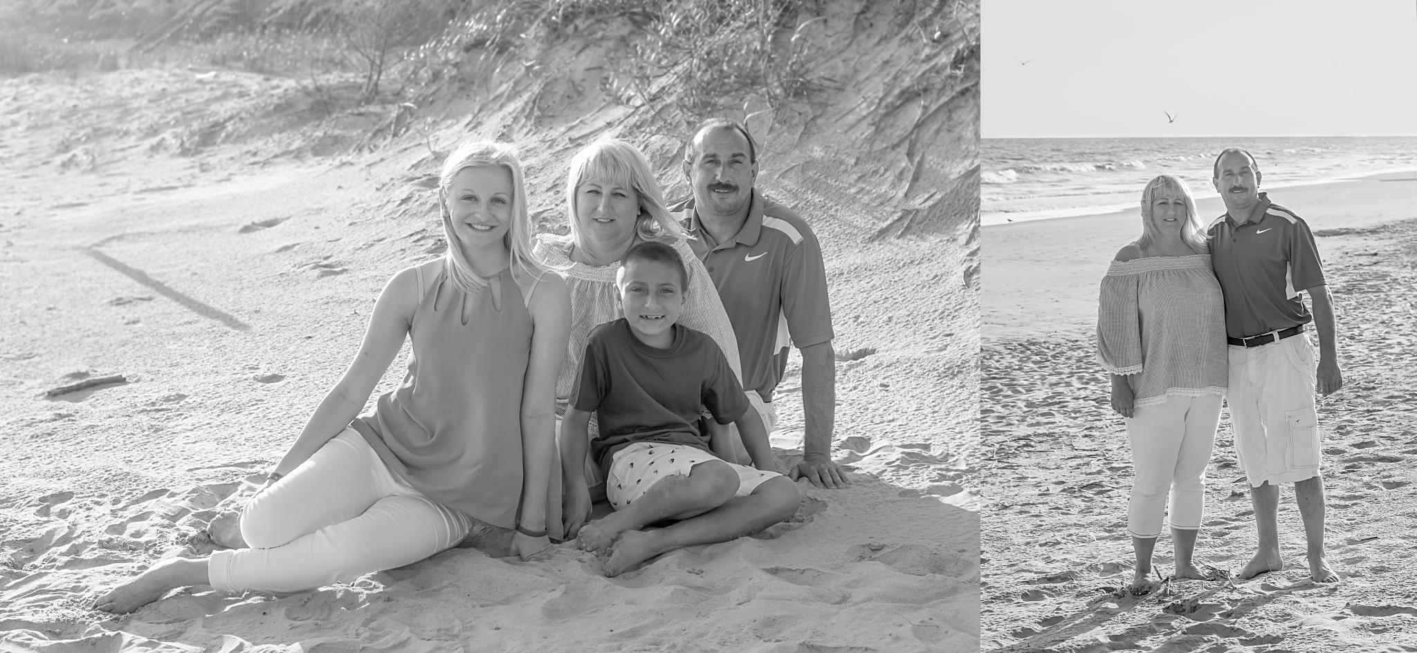 oak island nc family photos