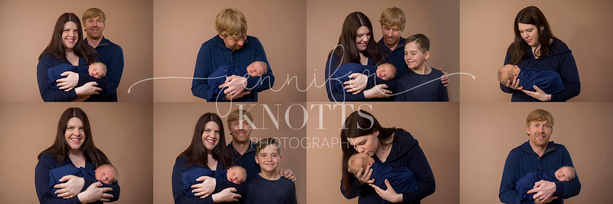 wilmington newborn session