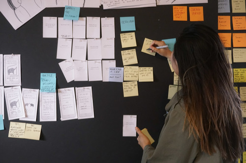 We went through rapid ideation and iterated on different user flows.