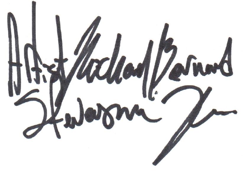 Artist Michael Bernard Stevenson Jr.