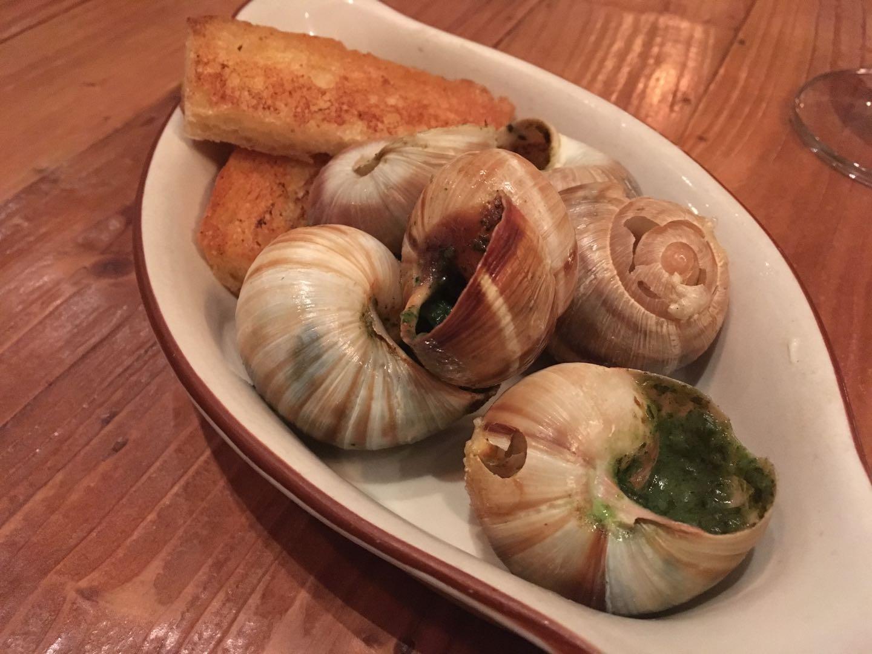Escargots, Bistro du Vin, Sept 2018.