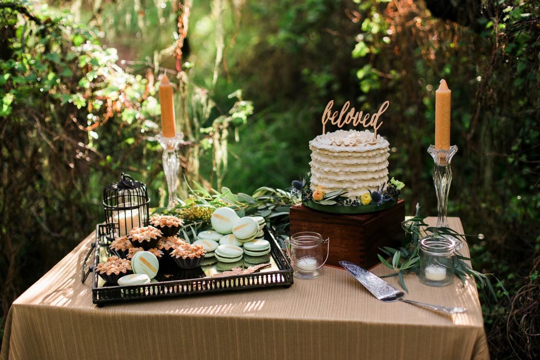 Forest-inspired Dessert Buffet