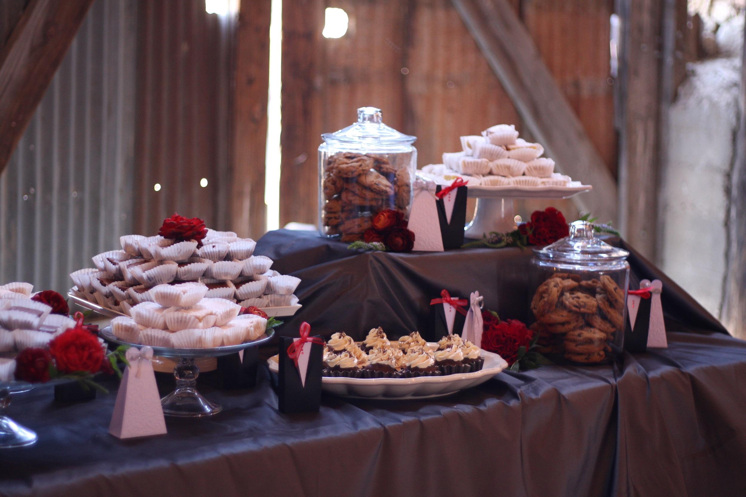 Dessert Buffet at Santa Margarita Ranch