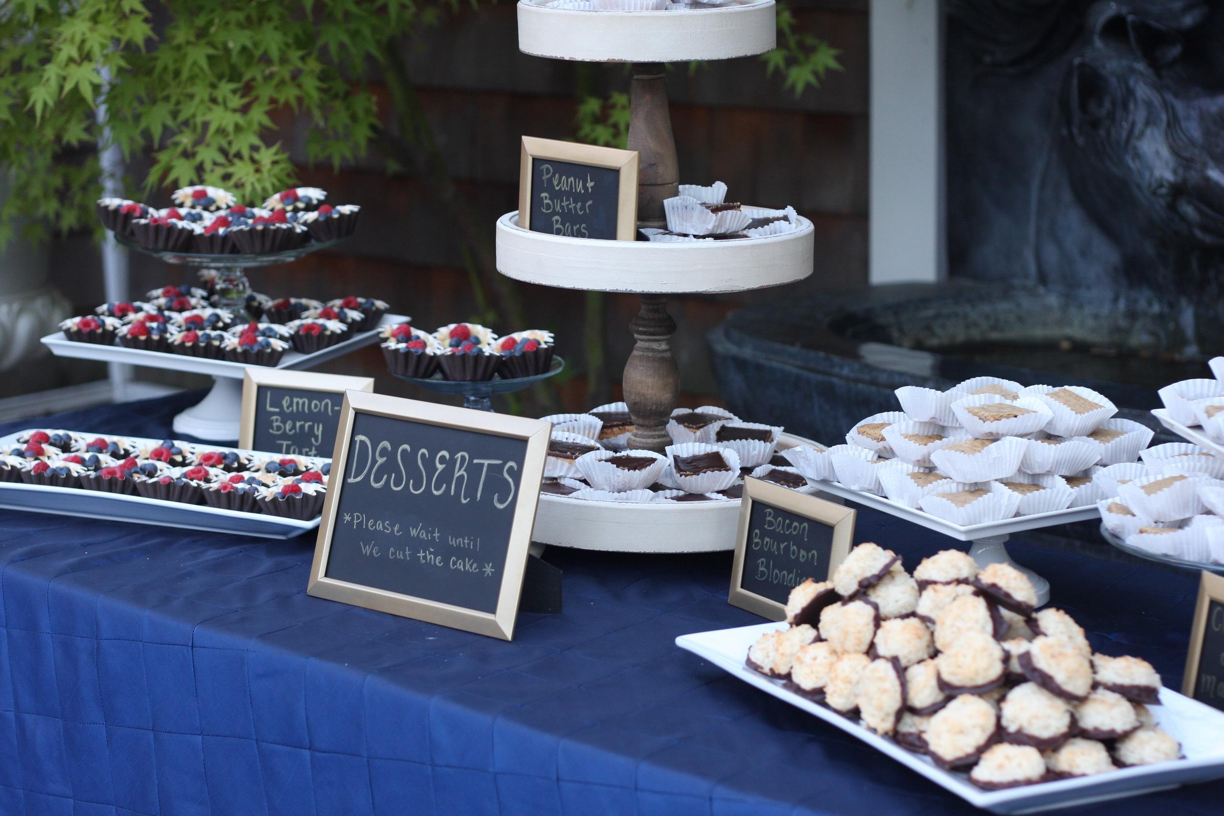 Dessert Buffet at Spanish Oaks Ranch