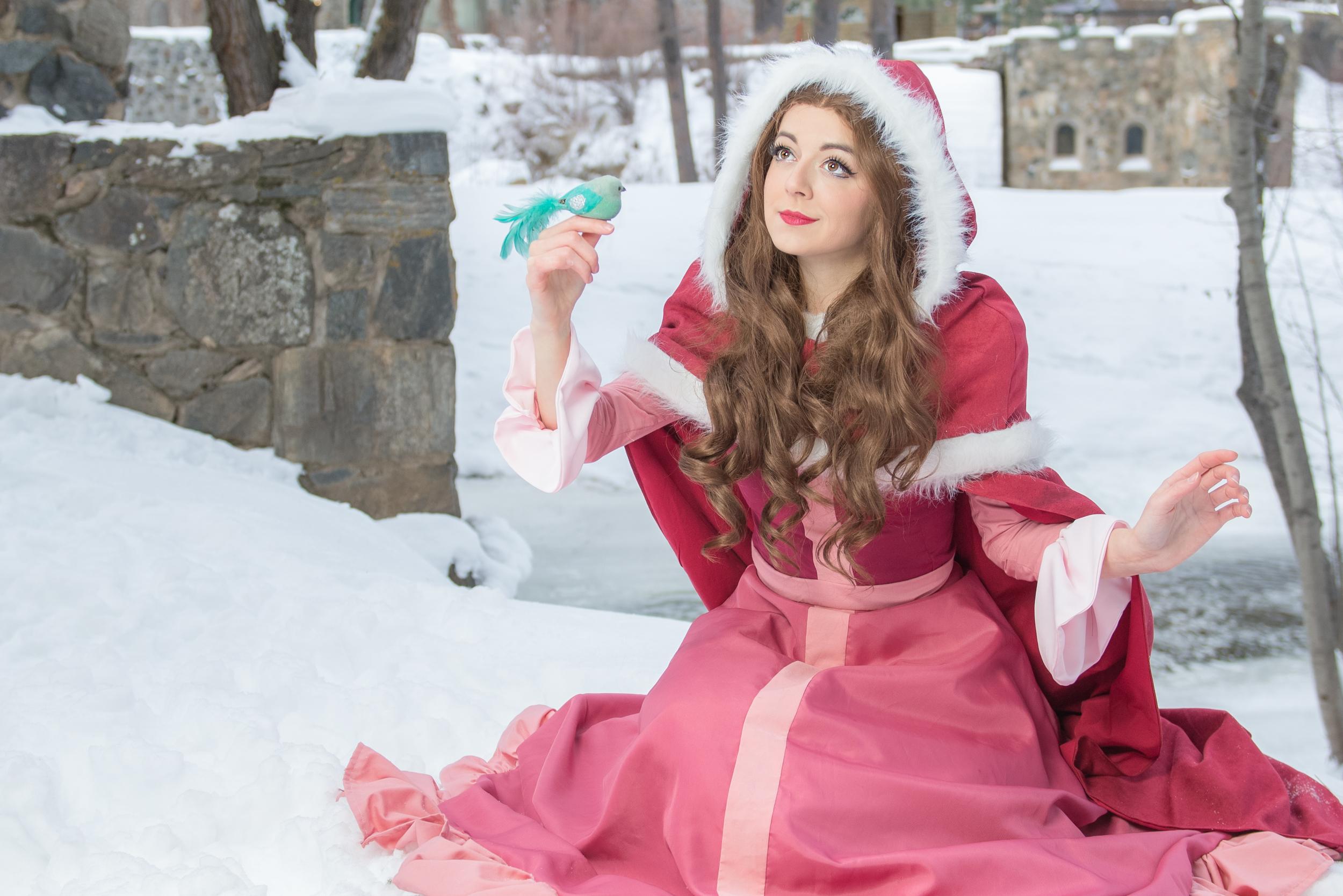A photo of my  Winter Belle  from a paid shoot with  Anne Barhyte - Photographer of Life