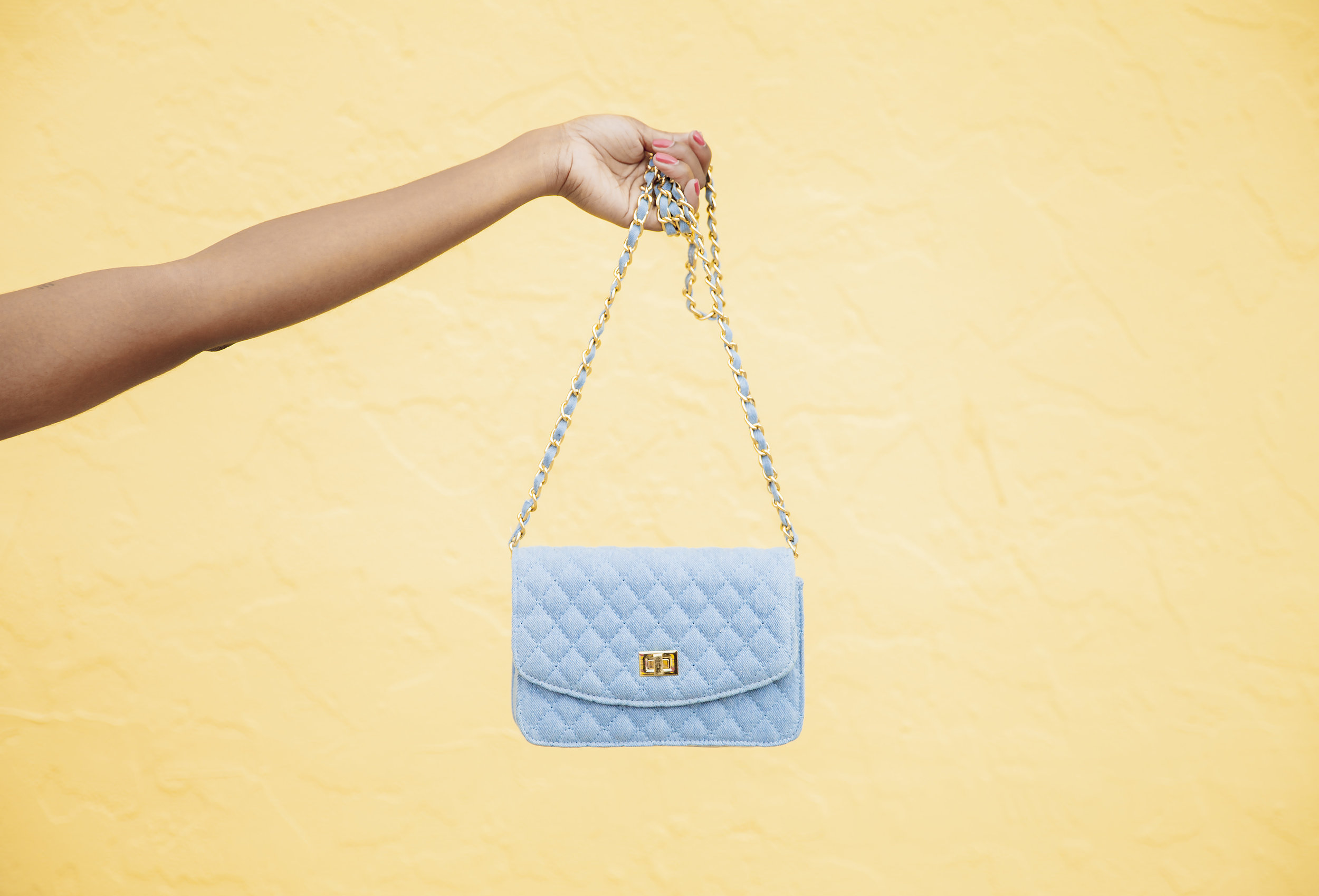 Although this bag is currently sold out, you can pick any purse from Shop J and G and use my code PAIGE15 for 15% off!