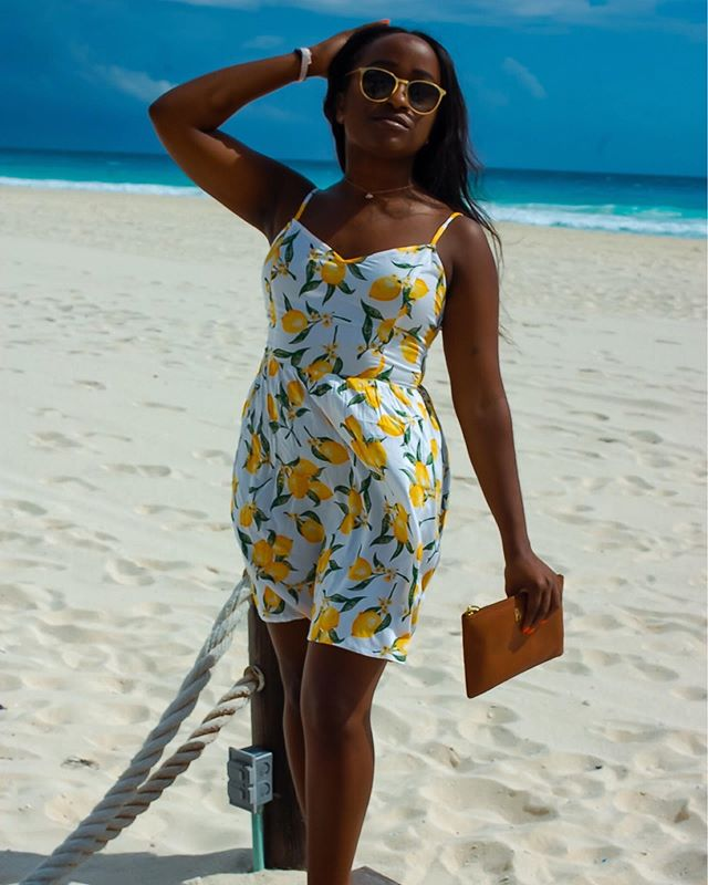 🍋Alexa, play Lemon by @nerd x @badgalriri 🍋 — After a long break I'm back at again with a fresh #newblogpost all about why you should pack a lemon print dress in your suitcase for your next warm-weather vacay. 🏝 Hit the 🔗 in my bio for all the shoppable deets on this look! — 👀If you've been following my Insta Stories, you know I recently got back from Cancún and ya girl captured all the content. 📲Head over to my 'Travel' Highlight for all the moments you may have missed! http://liketk.it/2GBb0 #liketkit @liketoknow.it