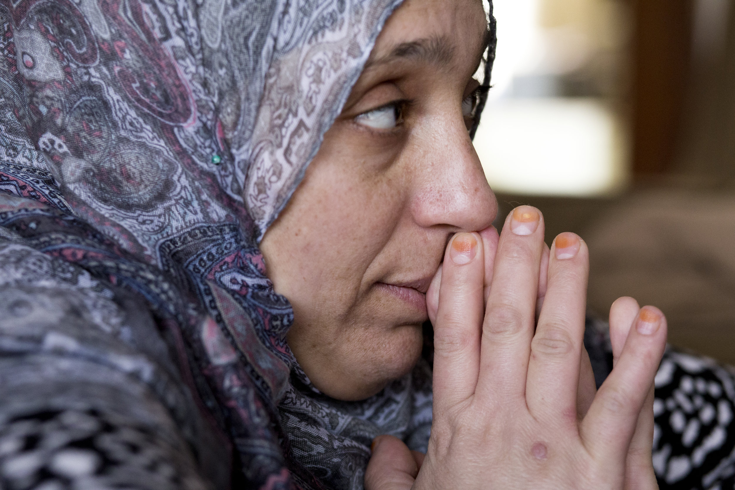 Mariam waits nervously to break the news to her husband about failing the drivers permit exam as her and Runah discuss options of retesting.