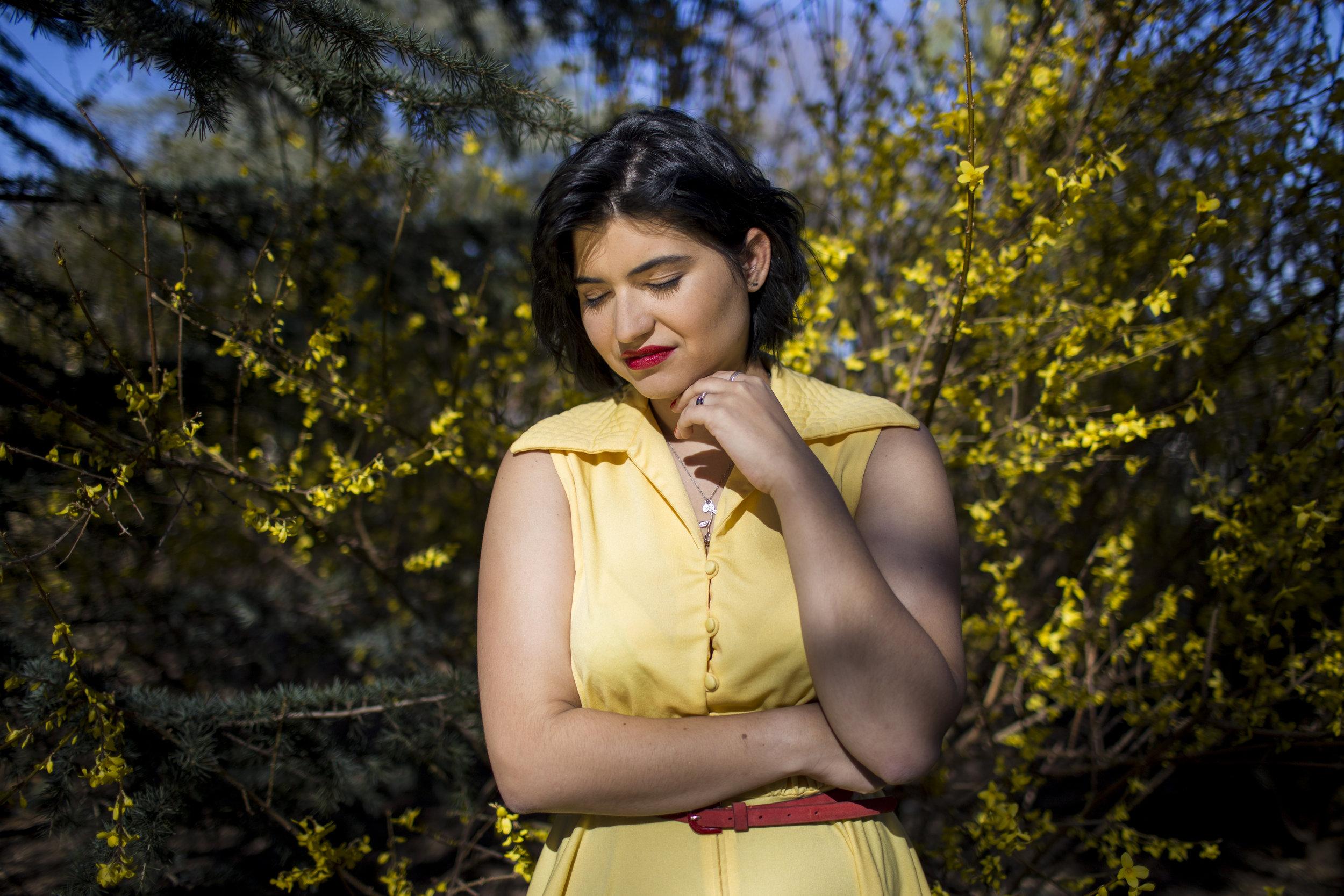 Maria Rose Belding for Glamour Magazine