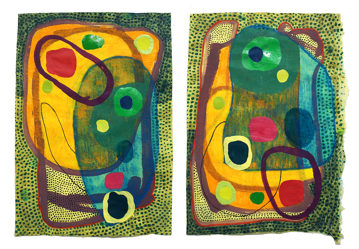 Untitled (50) - 2018 (diptych)