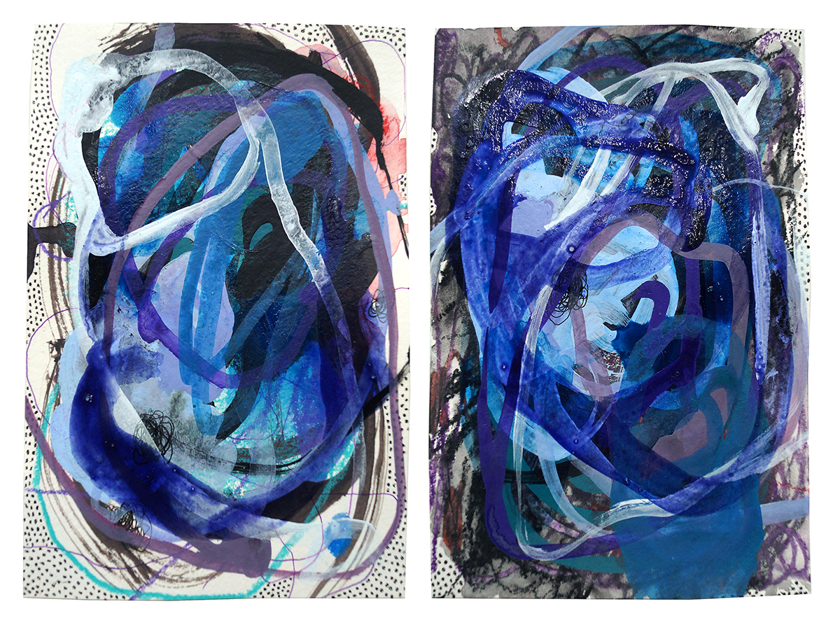 Untitled (14) - 2019 (diptych)