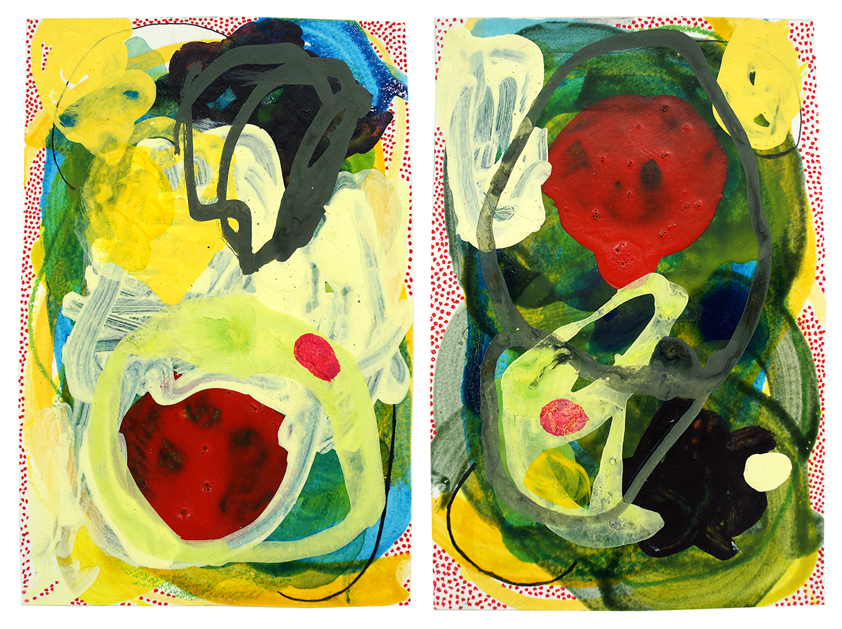 Untitled (18) - 2019 (diptych)