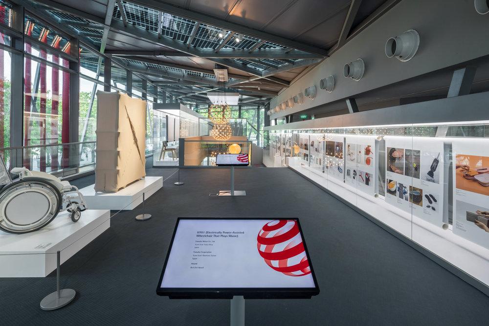 Red Dot Design Museum Singapore — forest & whale