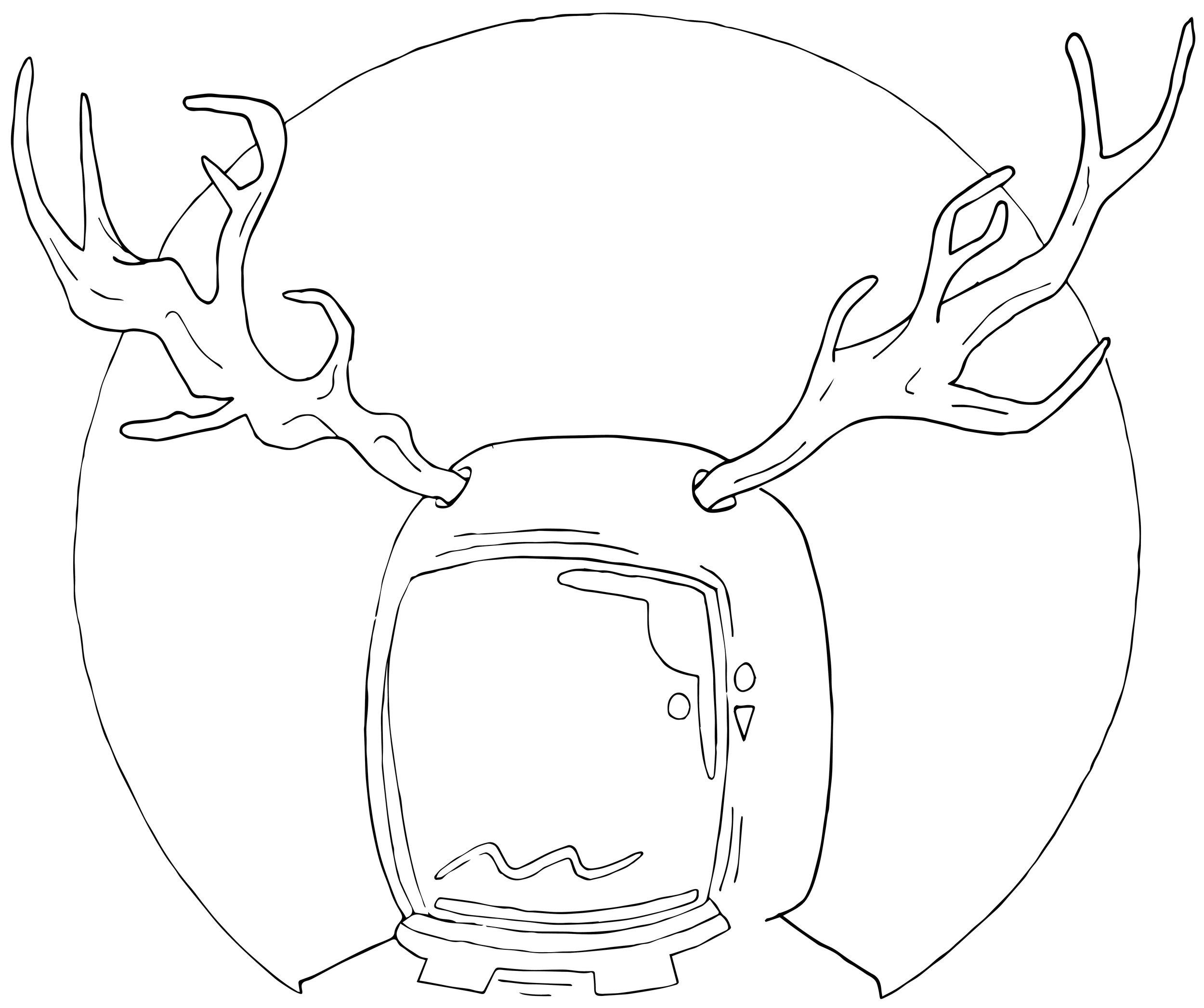 Brand Logo (Antlers & Astronauts- Greensboro, NC)