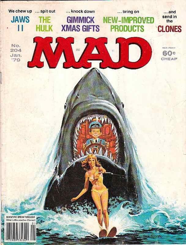 'Jaws 2', January 1979 by Jack Rickard.