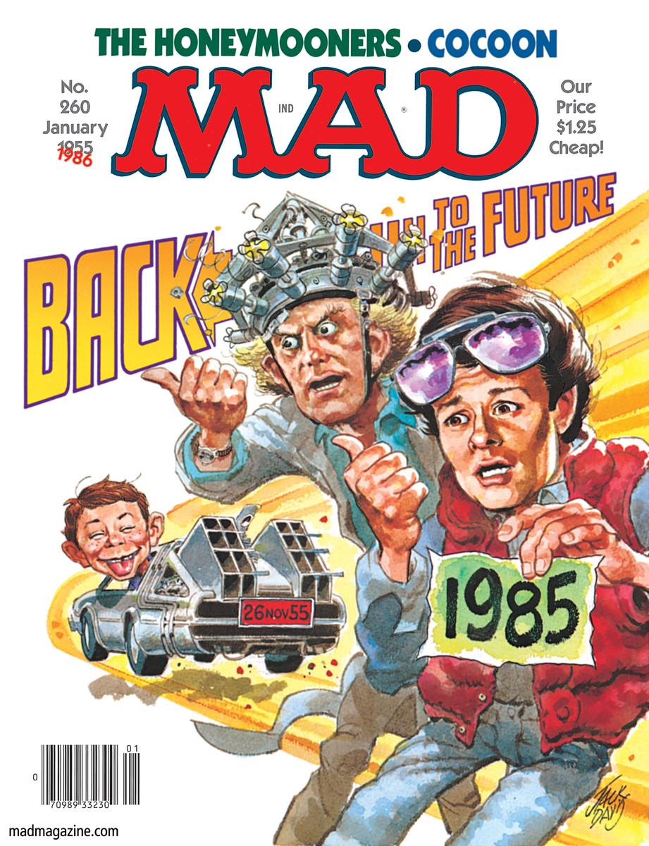 'Back to The Future', January 1986 by Jack Davis.