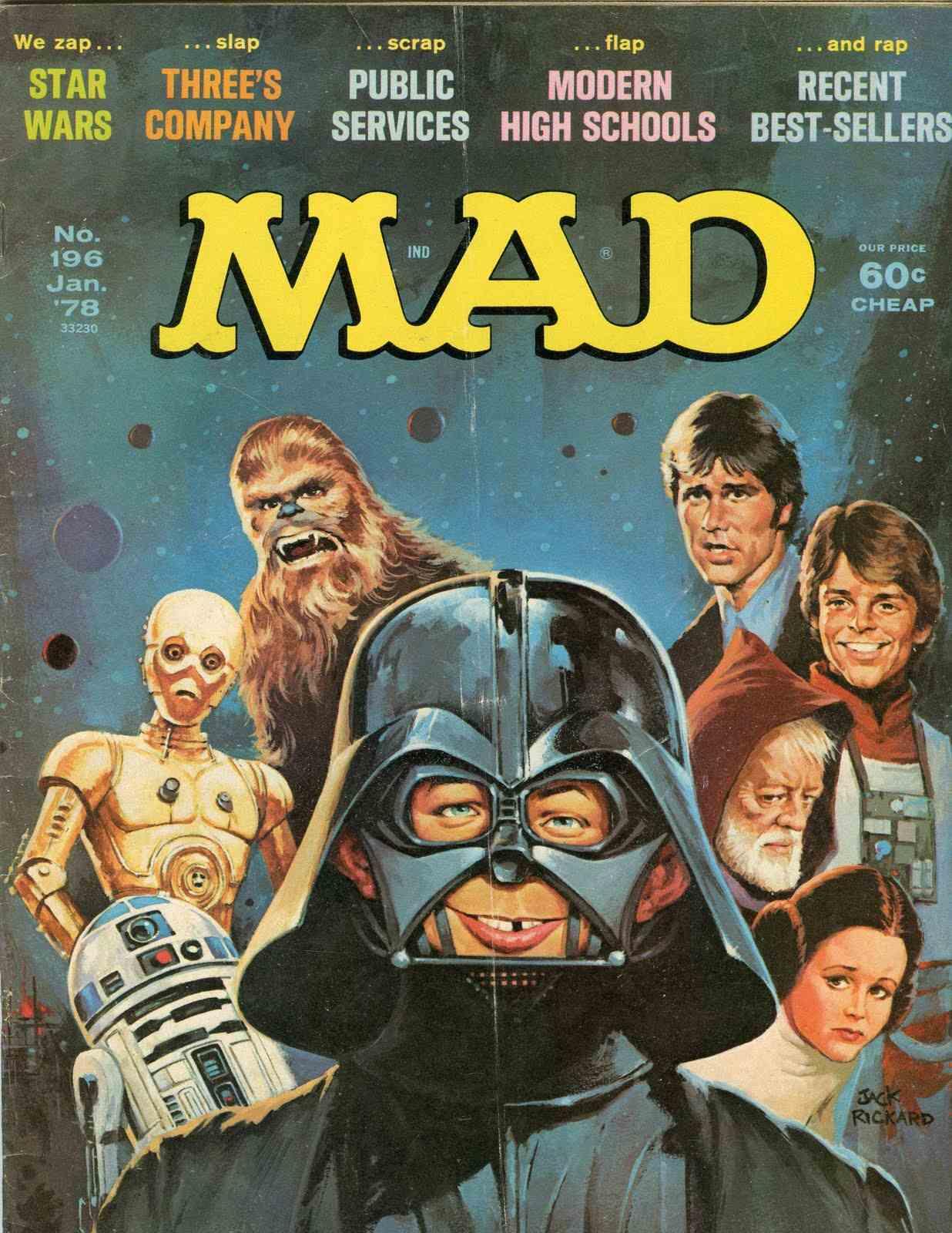 'Star Wars: A New Hope', January 1978 by Jack Rickard.