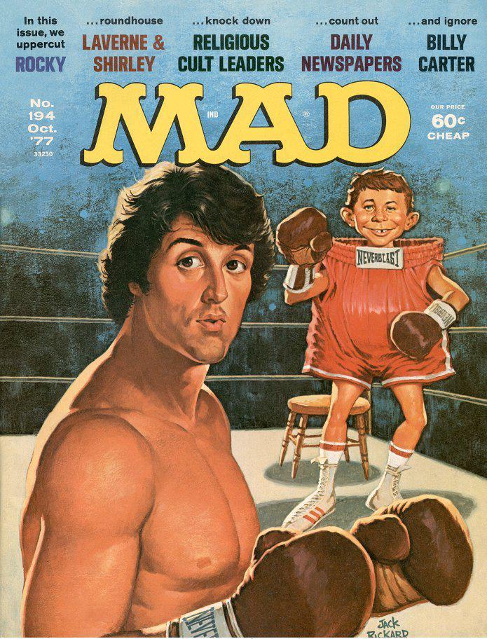 'Rocky', October 1977 by Jack Rickard.