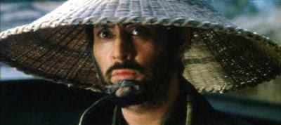 GOYOKIN, THE 1969 SAMURAI FILM FEATURING TATSUYA NAKADAI (ABOVE), SERVED AS THE STORYLINE INSPIRATION FOR GRUNT! THE WRESTLING MOVIE.