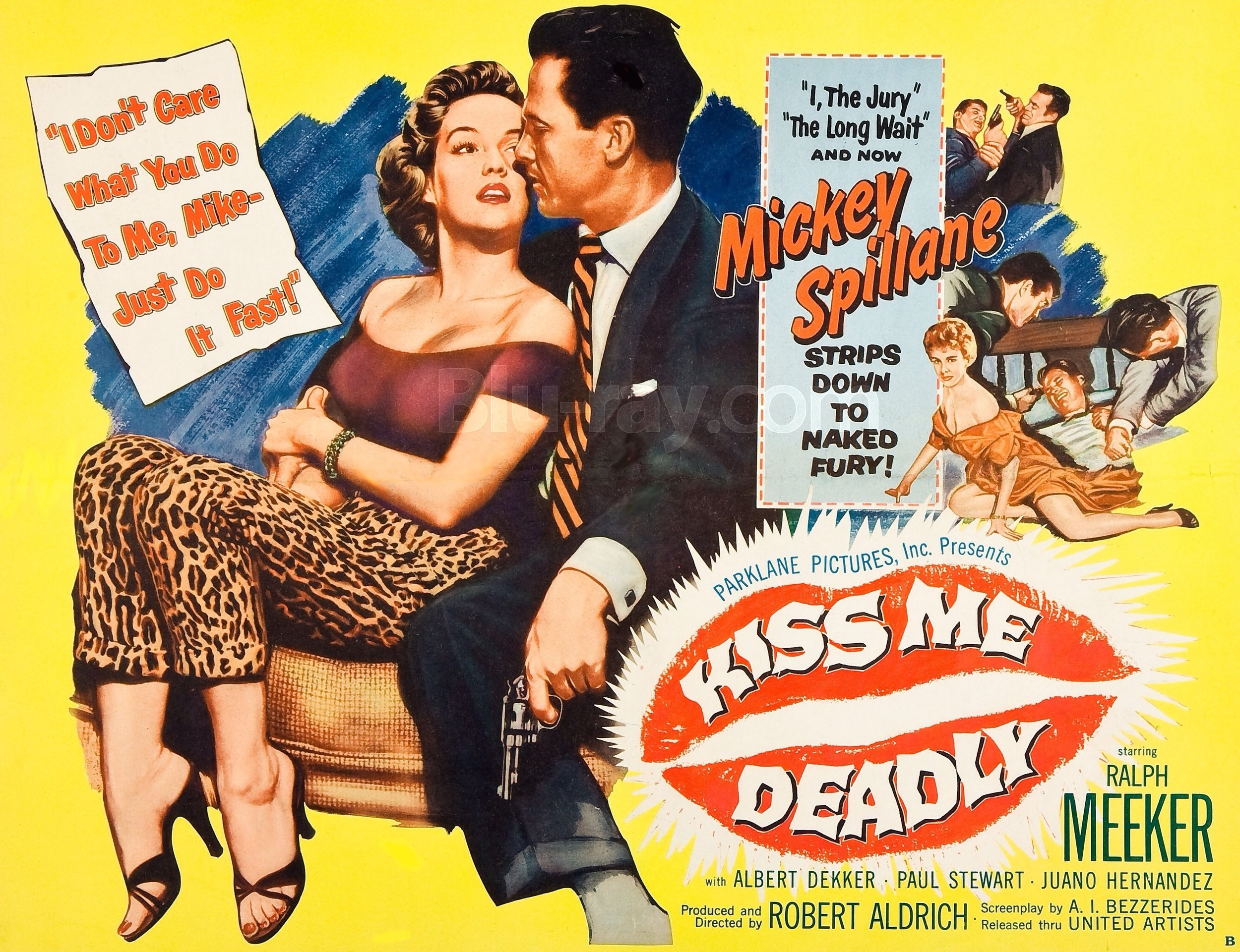 KISS ME DEADLY is regarded as one of the greatest Film Noir titles.